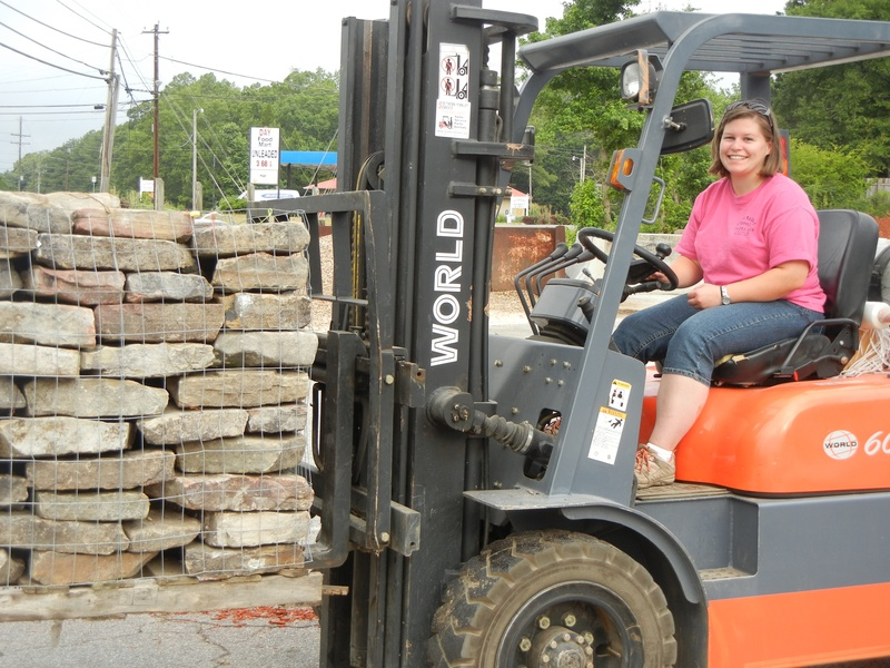 Heather - Load with forklift
